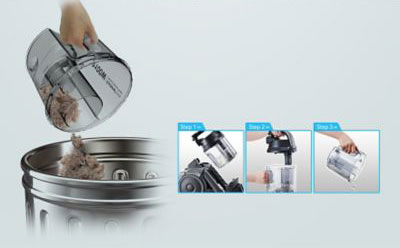 Deposito-de-polvo-Aspirador-Samsung-Cyclone-Force